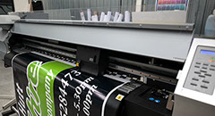 Mimaki JV33 160 printing vehicle signage